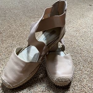 BCBGeneration Light Pink Espadrille Sandals